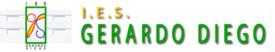 Página web del IES Gerardo Diego